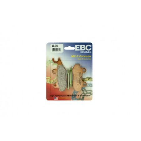 Klocki hamulcowe EBC MXS165 off-road wyczynowe (kpl. na 1 tarcze)