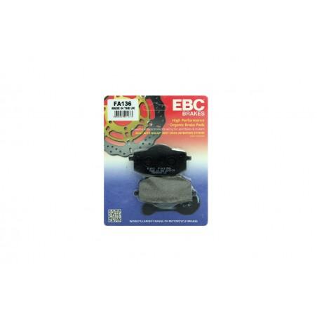 Klocki hamulcowe EBC FA136 (kpl. na 1 tarcze)