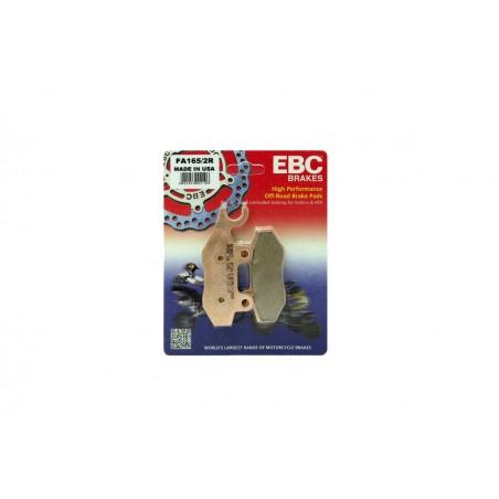 Klocki hamulcowe EBC FA165/2R (kpl. na 1 tarcze)