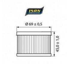 Filtr Oleju ISON111