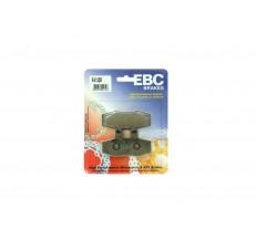 Klocki hamulcowe EBC FA132R (kpl. na 1 tarcze)