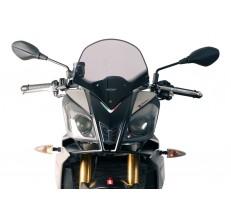 Szyba motocyklowa MRA APRILIA TUONO V4R, RK/TY, 2011-2014, forma TM, przyciemniana