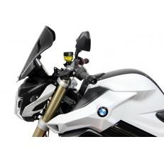 Szyba motocyklowa MRA BMW F 800 R, E8ST, 2015-, forma T, czarna