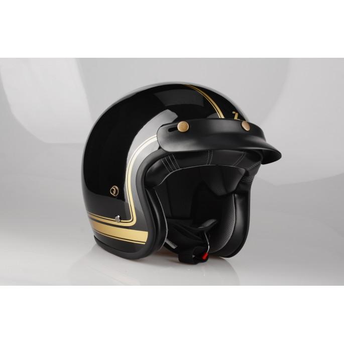 Kask Motocyklowy LAZER CONGA Cosmo (kol. Czarny - Złoty - Metalik) rozm. L
