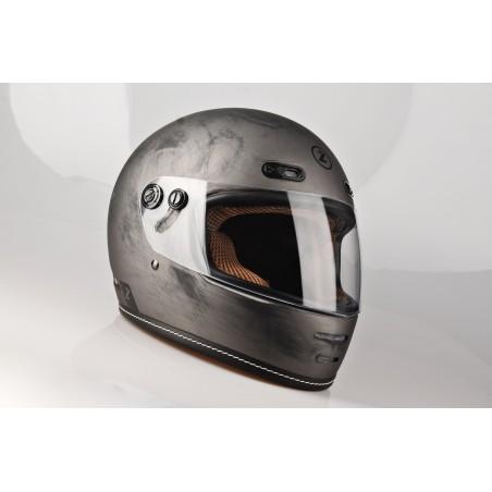 Kask Motocyklowy LAZER OROSHI Cafe Racer kol. szczotkowane aluminium/matowy rozm. XL