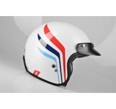 Kask Motocyklowy LAZER CONGA Wings (kol. Biały - Metalik) rozm. XL