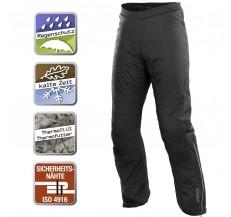 Spodnie motocyklowe przeciwdeszczowe termiczne BUSE czarne S