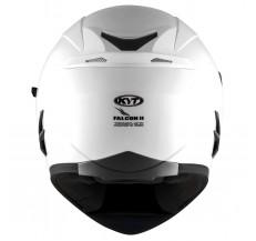 Kask Motocyklowy KYT FALCON 2 perłowy biały - 2XL