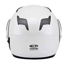 Kask Motocyklowy KYT CONVAIR perłowy biały - L