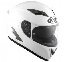 Kask Motocyklowy KYT FALCON 2 perłowy biały - S