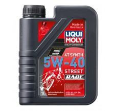 LIQUI MOLY Olej silnikowy syntetyczny do motocykli 5W40 Race 4T 1 litr