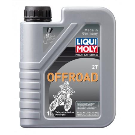 LIQUI MOLY Olej silnikowy półsyntetyczny Motorbike 2T Offroad 1 litr