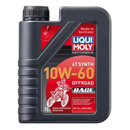 LIQUI MOLY Olej silnikowy syntetyczny do motocykli 10W60 Offroad Race 4T 1 litr