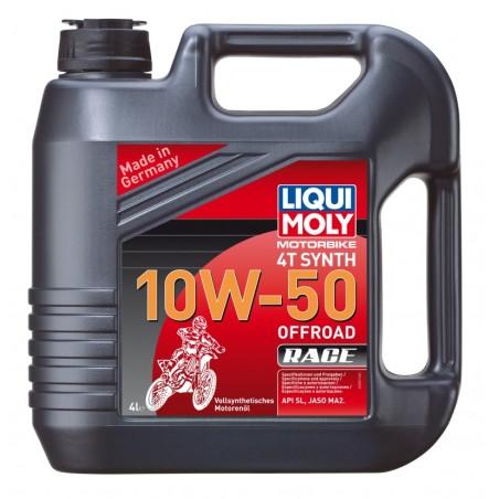 LIQUI MOLY Olej silnikowy syntetyczny do motocykli 10W50 Offroad Race 4T 4 litry