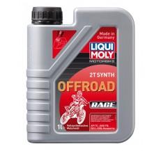 LIQUI MOLY Olej silnikowy syntetyczny Motorbike 2T Offroad Race 1 litr