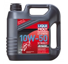 LIQUI MOLY Olej silnikowy syntetyczny do motocykli 10W50 Race 4T 4 litry