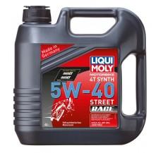 LIQUI MOLY Olej silnikowy syntetyczny do motocykli 5W40 Race 4T 4 litry