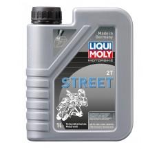 LIQUI MOLY Olej silnikowy półsyntetyczny Motorbike 2T Street 1 litr