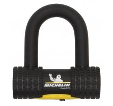 MICHELIN zestaw łańcuch 120cm z ogniwem lasso z kłódką  MINI U-lock - długość 120cm, średnica 13,5mm