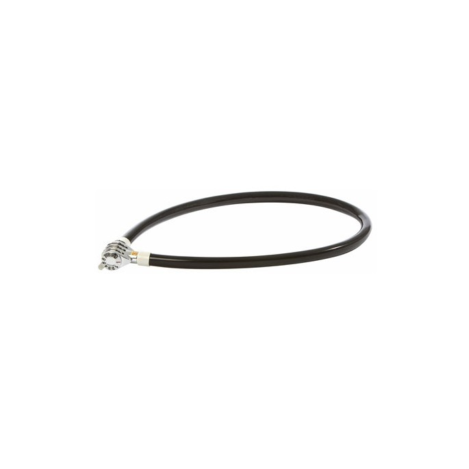 AUVRAY stalowa linka z zamkiem na szyfr - długość 65cm, średnica 5mm